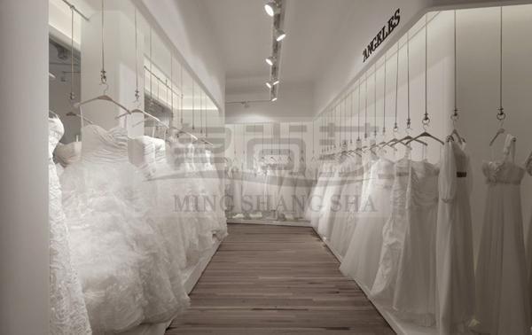 婚纱店婚纱礼服陈列的八大原则