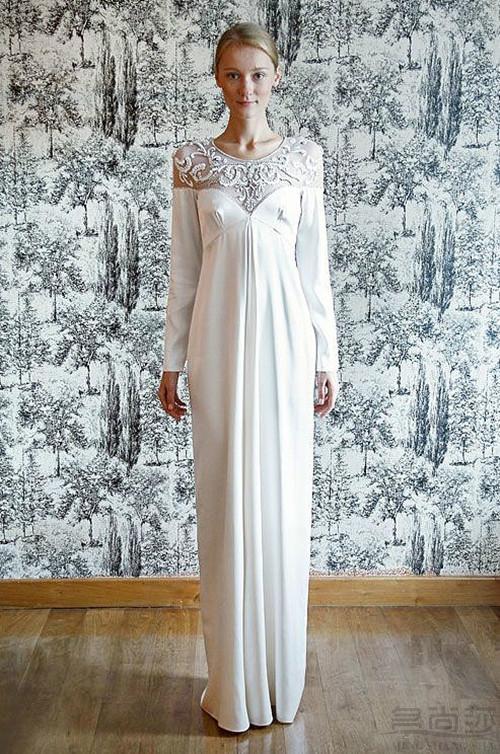 长袖婚纱礼服