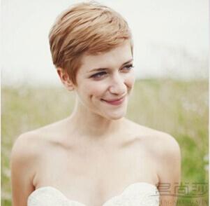 短发新娘发型专场 | 短发新娘平淡吸睛造型