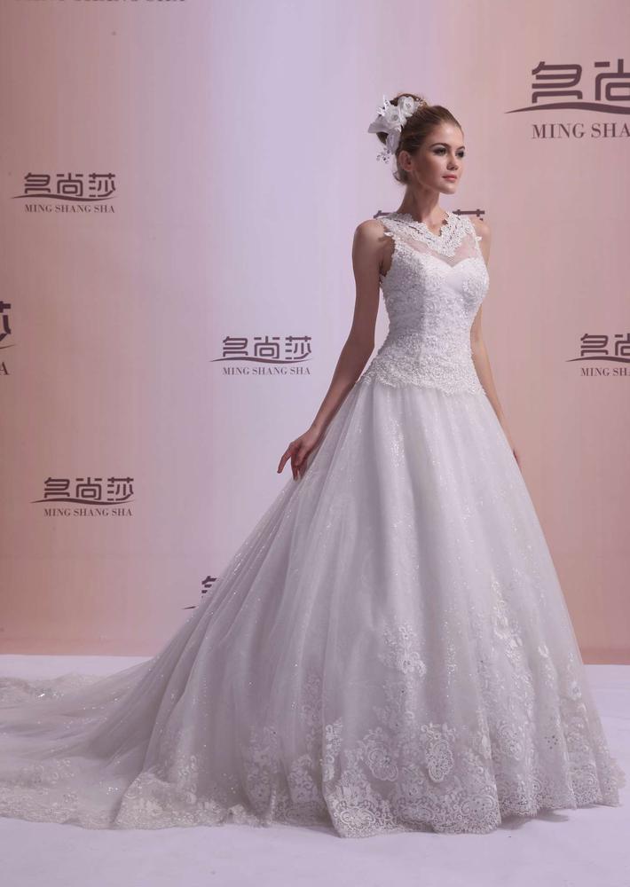婚纱水晶图案设计手稿